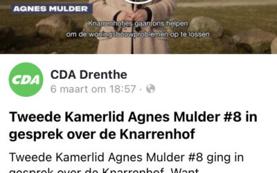 """Knarrenhofjes winnen terrein in verkiezingsprograma's"""