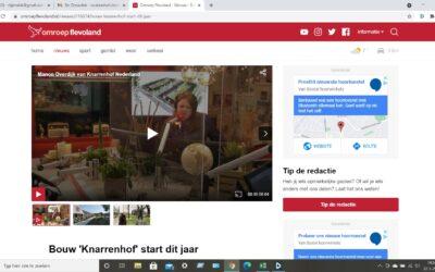 Bouw Knarrenhof Zeewolde start in 2021 – een interview